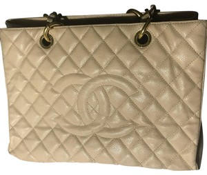 Chanel Tote in Light Camel