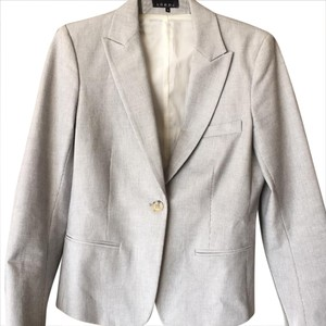 Theory navy/cream Blazer