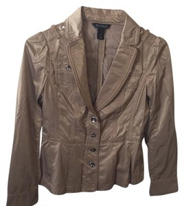 White House | Black Market tan Blazer
