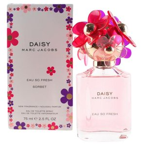 Marc Jacobs DAISY EAU SO FRESH SORBET by MARC JACOBS EDT Spry 75ml /2.5oz Woman