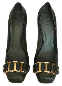 Tory Burch green Pumps