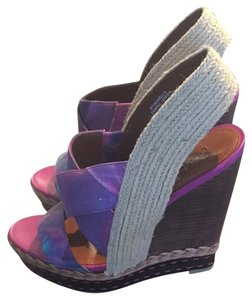 Boutique 9 Purple/pink Wedges