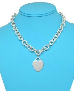 Tiffany & Co. Tiffany & Co. Heart Tag Cable Chain 15.5