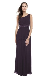 Bill Levkoff Plum Bill Levkoff One Shoulder Dress Style 163 Dress