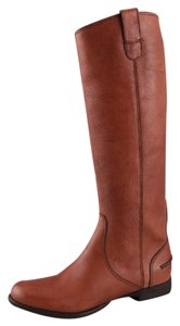 Madewell Vintage Leather Riding Brown Boots