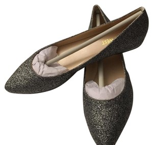 Nine West dark pewter Flats