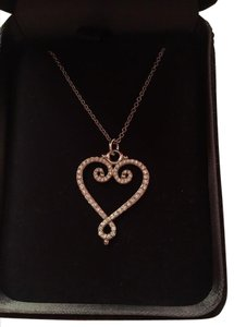 Tiffany & Co. Tiffany & Co. Paloma Picasso Venezia Goldoni Diamond Heart Necklace