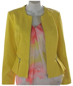 INC International Concepts yellow Jacket