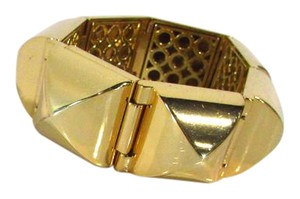 CC SKYE 18K Gold Coated Pyramid Cuff Bracelet