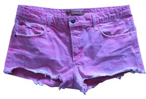 JOE'S Jeans Cut Off Shorts pink