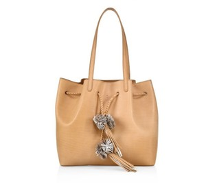 Loeffler Randall New Style Firm Leather Tote in Natural