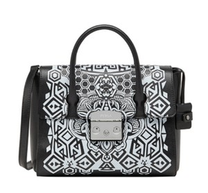 Furla Satchel in Black/Gray