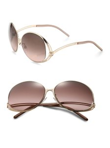 Roberto Cavalli Women's Metallic Grumium 61mm Round Sunglasses