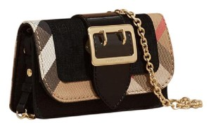 Burberry Clucth Buckle Cross Body Bag