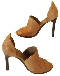 7 For All Mankind Taupe Platforms