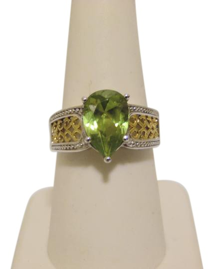 Preload https://img-static.tradesy.com/item/2111216/technibond-925platinum-plated-pear-shape-peridot-gemstone-size-8-ring-0-2-540-540.jpg