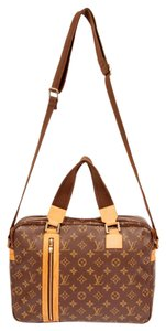 Louis Vuitton Monogram Canvas Laptop Weekend Travel Sac Bosphore Cross Body Bag
