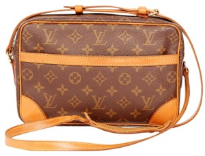 Louis Vuitton Canvas Trocadero Vintage Classic Cross Body Bag