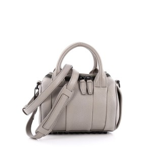 Alexander Wang Leather Satchel in Grey