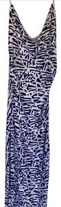 Navy & White Maxi Dress by Diane von Furstenberg
