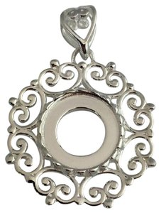 Kameleon Kameleon Beaded Filigree Sterling Silver Pendant Kp-10, Kp010, New