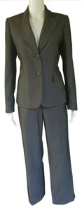 Kasper KASPER Gray Textured Career Pantsuit Pants Suit 6