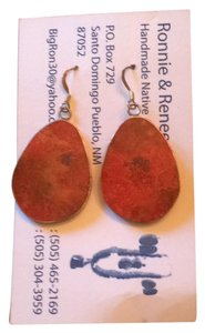 Ronnie & Renee Aguilar Apple Coral Handmade Native American Jewelry