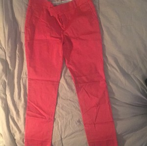Banana Republic Capri/Cropped Pants salmon pink