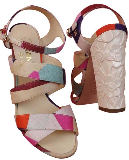 Chanel Multicolor Sandals Image 0