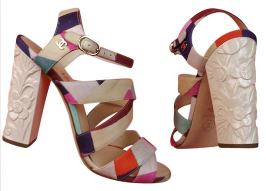 Chanel Multicolor Sandals Image 1