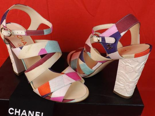 Chanel Multicolor Sandals Image 10