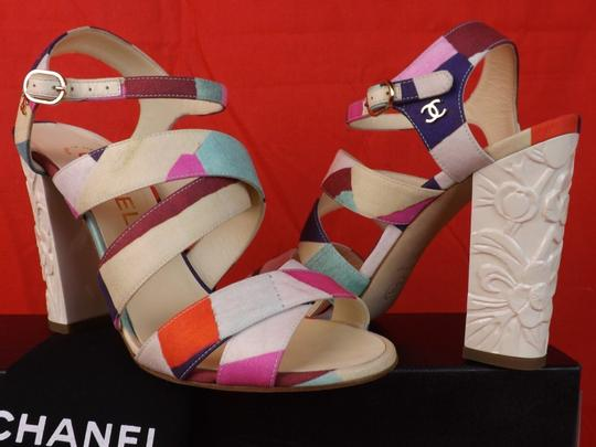 Chanel Multicolor Sandals Image 2