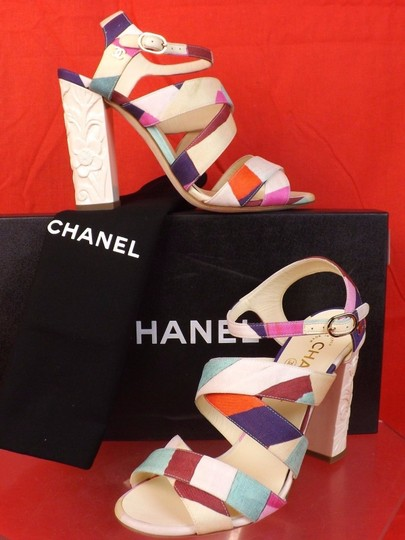 Chanel Multicolor Sandals Image 3