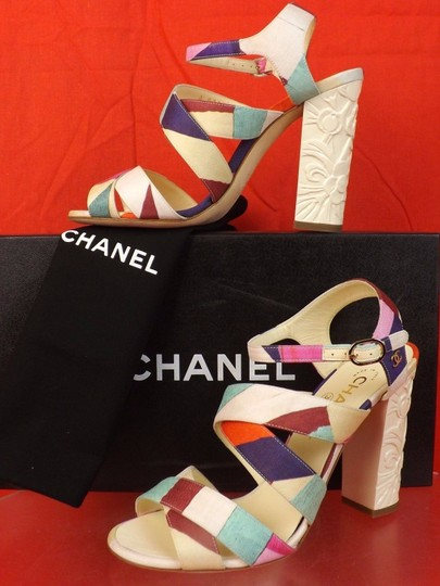 Chanel Multicolor Sandals Image 4