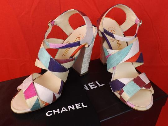 Chanel Multicolor Sandals Image 6
