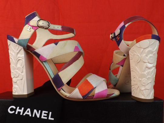 Chanel Multicolor Sandals Image 7