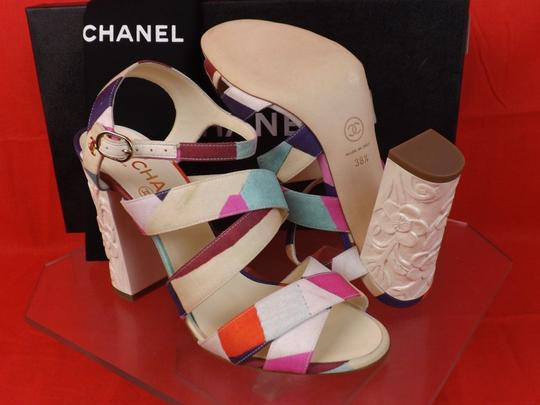Chanel Multicolor Sandals Image 8
