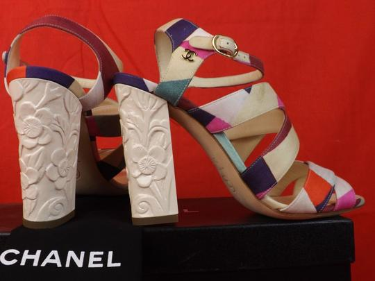 Chanel Multicolor Sandals Image 9