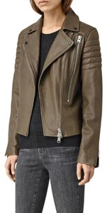 AllSaints Leather Motorcycle Jacket