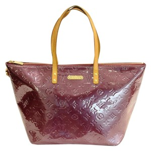 Louis Vuitton Lv Lv Lv Vernis Tote in purple