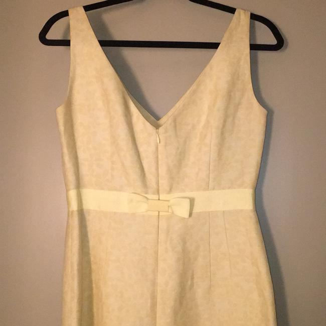J.Crew Yellow Mid-length Cocktail Dress Size 4 (S) J.Crew Yellow Mid-length Cocktail Dress Size 4 (S) Image 2
