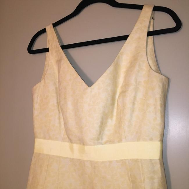 J.Crew Yellow Mid-length Cocktail Dress Size 4 (S) J.Crew Yellow Mid-length Cocktail Dress Size 4 (S) Image 5