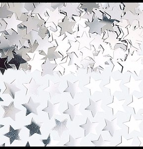 Silver Mini-star Confetti (2 4-oz Bags)