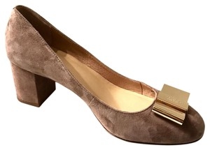 Kate Spade tan gray Pumps