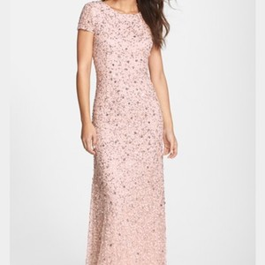 BHLDN Blush Bhldn Beaded Dress In Blush Dress