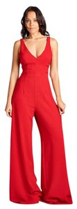 AG Studio Jumpsuit Structured Party Open Evening Dress