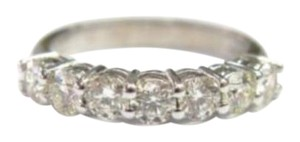Other Fine Round Cut Diamond Anniversary Band Ring WG 1.24CT