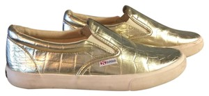Superga Metallic Gold Athletic