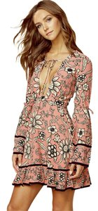 For Love & Lemons short dress Pink on Tradesy