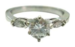 Other Fine Round Solitaire & Marquise Diamond Engagement Ring